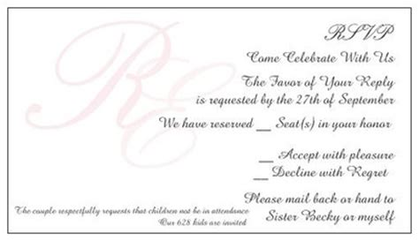 Weddingwire Rsvp by How Does My Rsvp Card Wording Sound Weddings Etiquette
