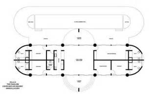 pavilion floor plan pavilion villa at covecastles anguilla villa rental