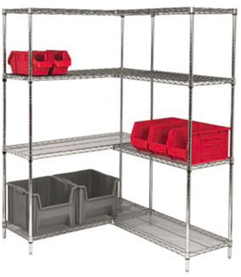 l shaped storage shelves chrome 74 inch wire shelving starter kits 74 inch wire
