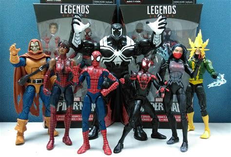Marvel All Figure marvel legends space venom build a figure photos marvel