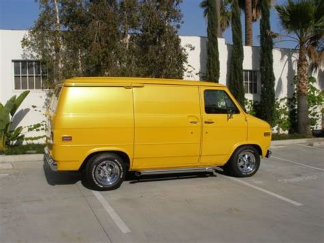 how cars run 1992 chevrolet g series g10 electronic toll collection buy used 1977 chevy g10 van in santa fe springs california united states for us 25 000 00