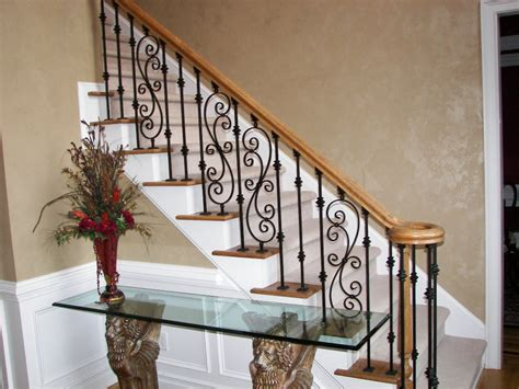 iron banister iron balusters staircase image scroll series dream home pinterest staircase