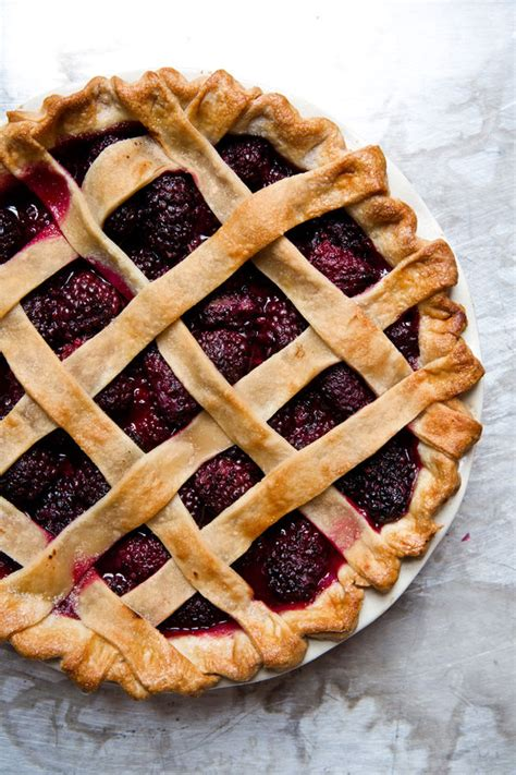 blackberry pie recipe dishmaps