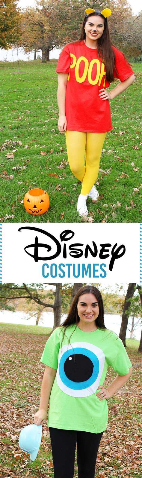 diy  minute disney halloween costumes super easy