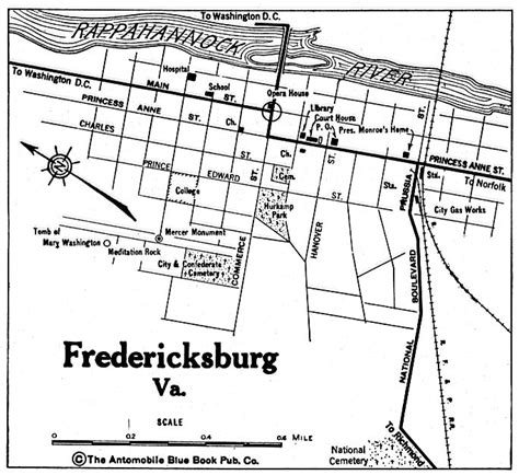 map fredericksburg maps of fredericksburg city map virginia united states