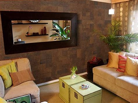 tile accent wall in the living room home