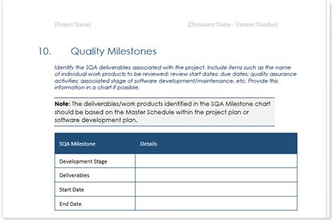 quality assurance plan templates ms word excel templates forms checklists  ms office