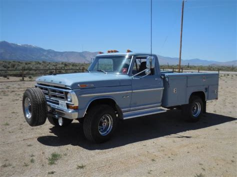 1972 ford custom truck f26yrm82141 1972 ford f250 custom service truck