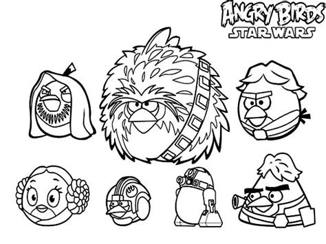 angry birds star wars coloring pages darth vader angry birds star wars characters coloring pages batch