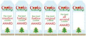 cookie exchange party free printables how to nest for
