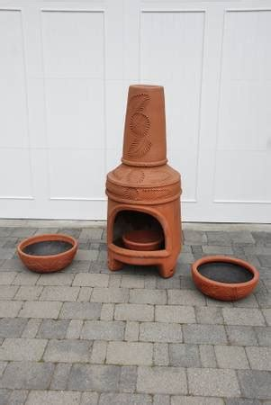 terracotta chiminea for sale