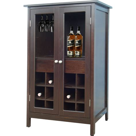 Bottle Cabinet by Jenlea 12 Bottle Floor Wine Cabinet Reviews Wayfair