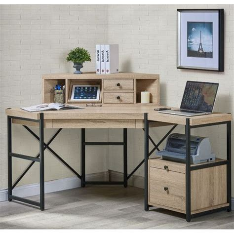 Metal Computer Desk With Hutch Best 25 Corner Desk With Corner Desk Metal