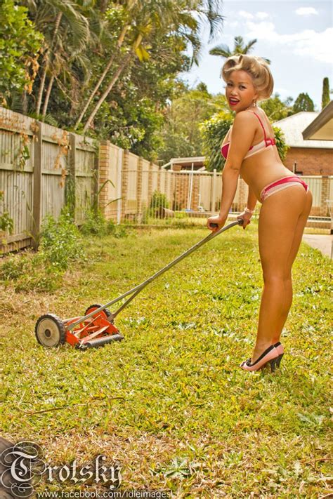 the backyard babes 145 best images about vintage lawn mowers on pinterest