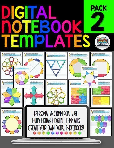 155 Best Powerpoint Templates Images On Pinterest Background Images Back To School And Back Digital Interactive Notebook Templates