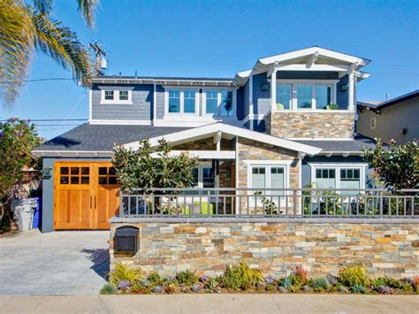 blue beach houses photo page hgtv