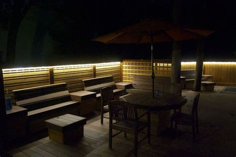 Patio Lighting Options Outside Patio Deck Lighting Ideas And Pictures Minimalist Home Design Inspiration