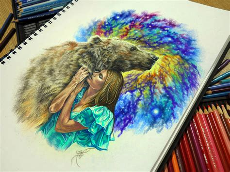 colored drawings samarina s bright colored drawings and tattoos scene360