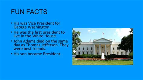 who s in the house first president to live in the white house house plan 2017