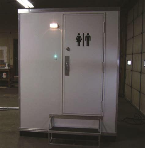 mobile bathroom introducing the newest 2013 portable restroom trailer
