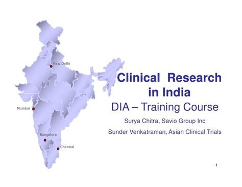 Mba In Clinical Research Management In India by Clinical Research In India