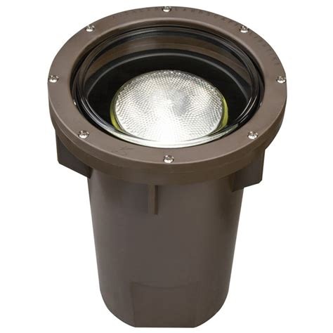 Kichler Well Light Kichler 15295az Architectural Bronze In Ground Well Light For Par38 Ls Lightingdirect