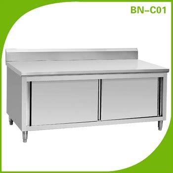stainless steel restaurant kitchen cabinets restaurant kitchen stainless steel cabinet bn c01 buy