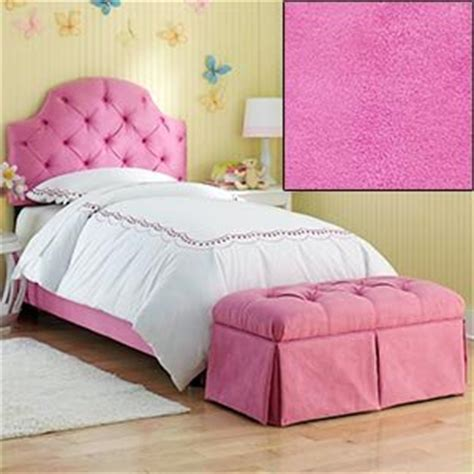pink twin headboard com hot pink tufted twin bed with bench