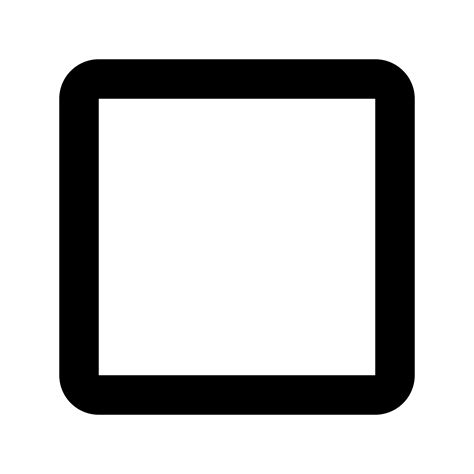 Outlined Box by Black Box Outline Png Clipart Best