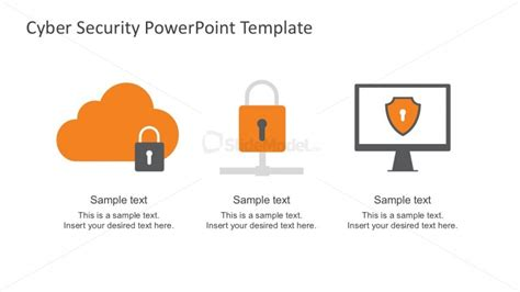 Cloud Computing Powerpoint Infographics Slidemodel Cyber Security Ppt Template