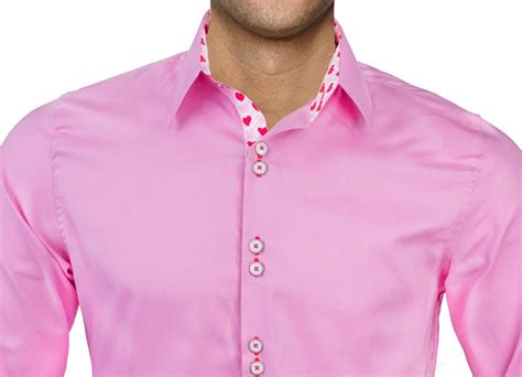 shirts for valentines day mens pink valentines day dress shirts