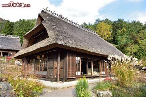casa tradizionale giapponese casa tradizionale giapponese nel villaggio tipico