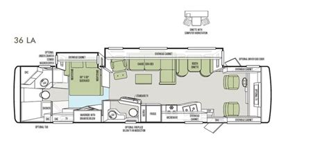 tiffin rv floor plans 43 best images about tiffin motorhomes on pinterest