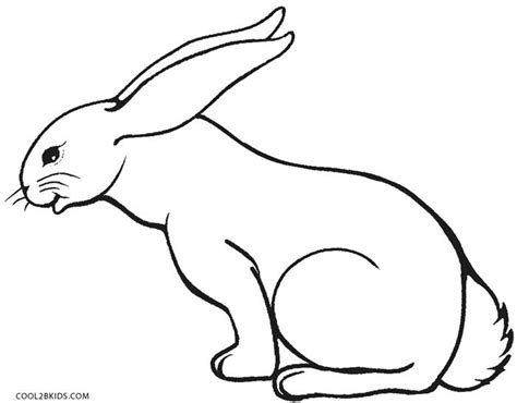 rabbit coloring page printable free coloring pages of rabbit 11