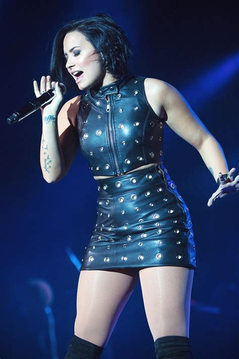 demi lovato performs at 106 1 fm s fall