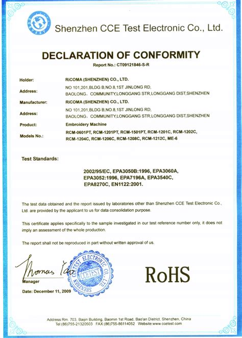 ce certificate of conformity template images templates