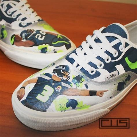 seahawks shoes seattle seahawks custom shoes nikes chucks and cleats