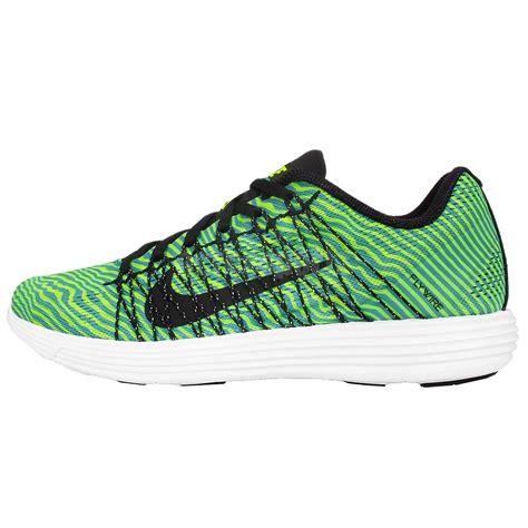 nike lunarlon mens running shoes nike lunaracer 3 green black white mens running shoes