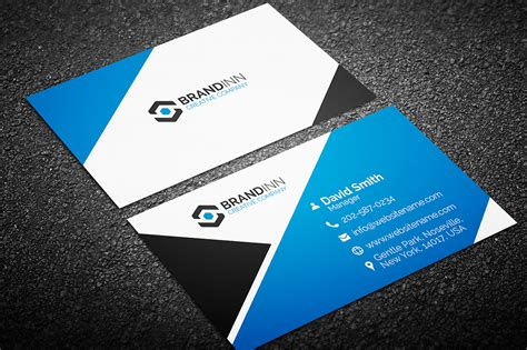 corporate visiting card templates creative corporate business card 11 graphic