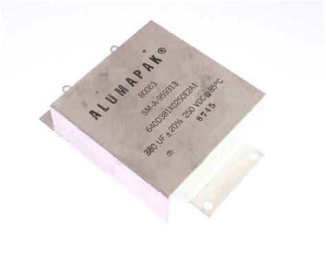 tantalum capacitor with fuse 640d381x0250e2a1 sprague capacitor 380uf 250v tantalum radial 2020027889