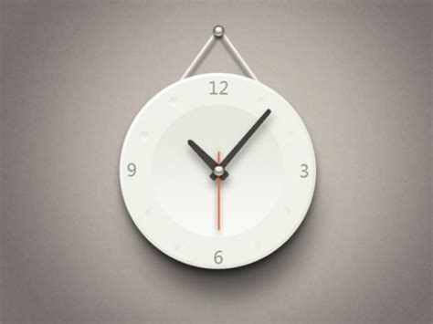 minimalist clock the minimalist clock icon psd layered material psd designs