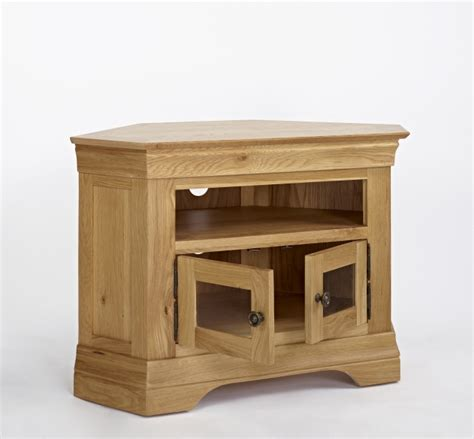 Corner Cabinet Living Room Furniture Morea Solid Oak Living Room Furniture Corner Television Cabinet Stand Unit Ebay