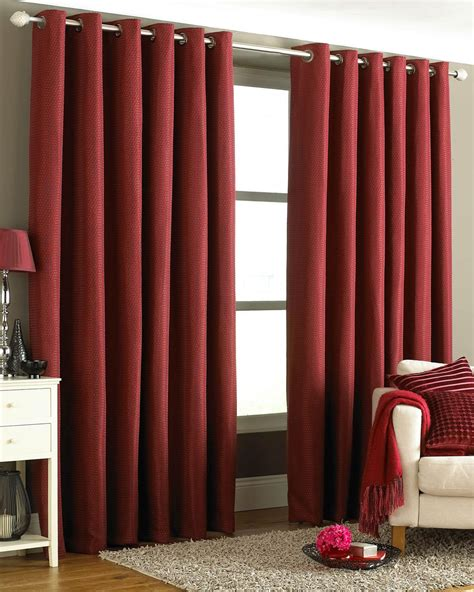 burgundy eyelet curtains terry s fabrics burgundy tobago ready made eyelet curtains