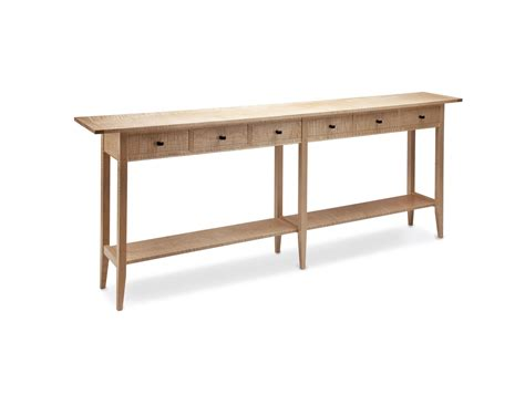 sofa table long long sofa table by tom dumke wood console table artful