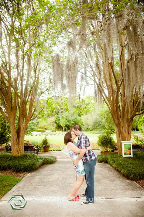 leu gardens winter park leu gardens wedding photographers winter park engagement