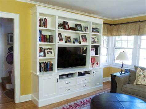 tv cabinet with bookshelves built in bookcase tv cabinet large living room
