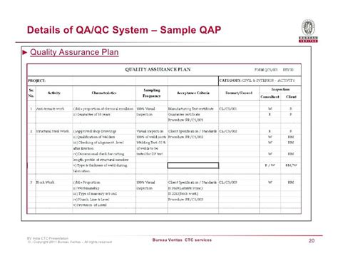 sample quality management plan 9 examples in word pdf