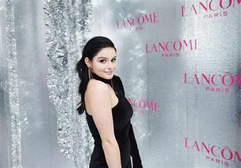 ariel winter vogue ariel winter lancome x vogue holiday event in west hollywood