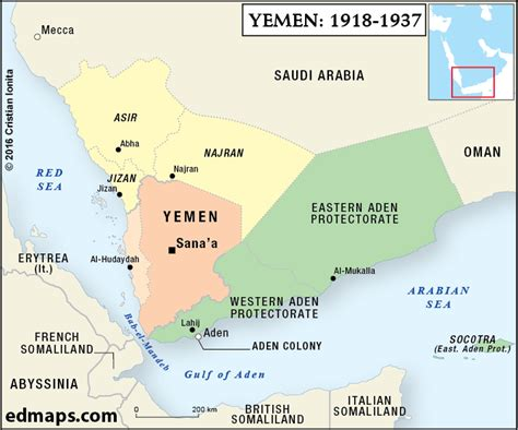 yemen  countrys crisis outlined   maps alistair