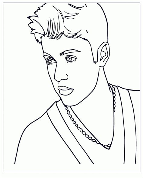 justin bieber coloring pages justin bieber coloring pages kidsuki